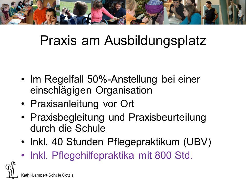 Kathi-Lampert-Schule Götzis Fremdpraktika 1.Klasse: 5 Wochen und 1 Woche UBV 2.