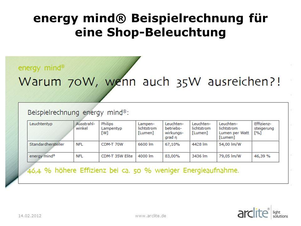 12.01.2012www.arclite.de Warum LEDs ?