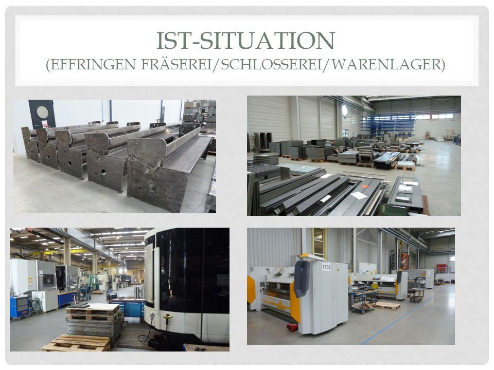 IST-SITUATION (EFFRINGEN FRÄSEREI/SCHLOSSEREI/WARENLAGER)