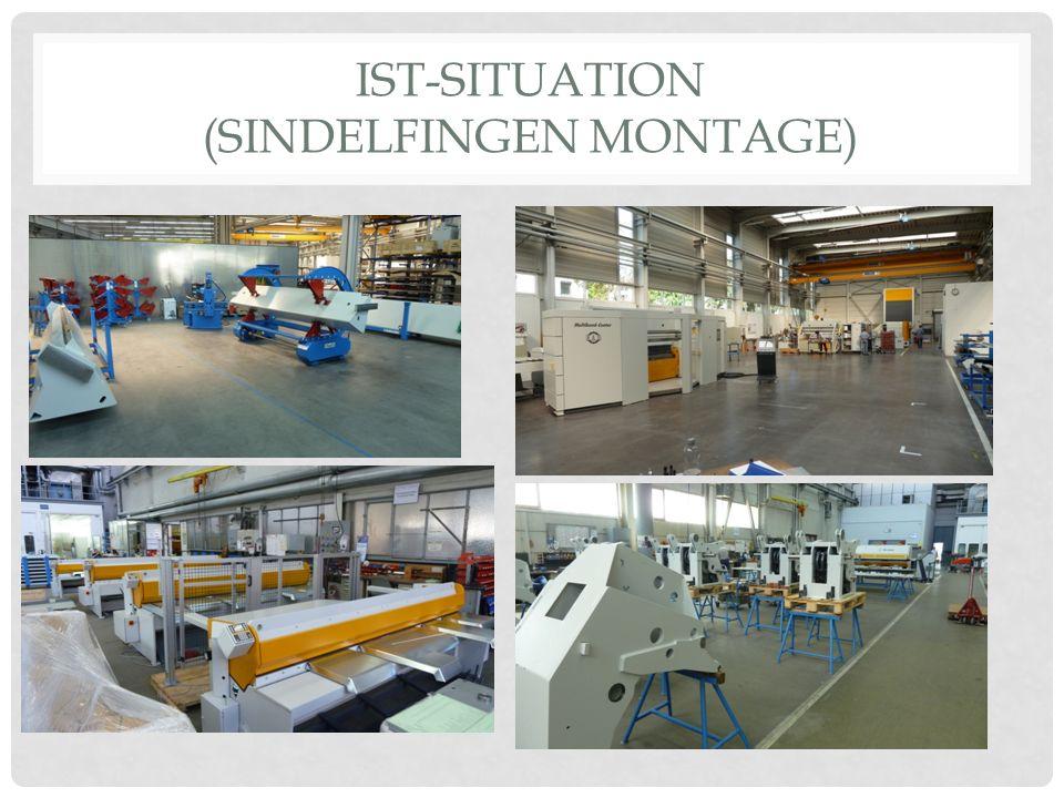 IST-SITUATION (SINDELFINGEN MONTAGE)
