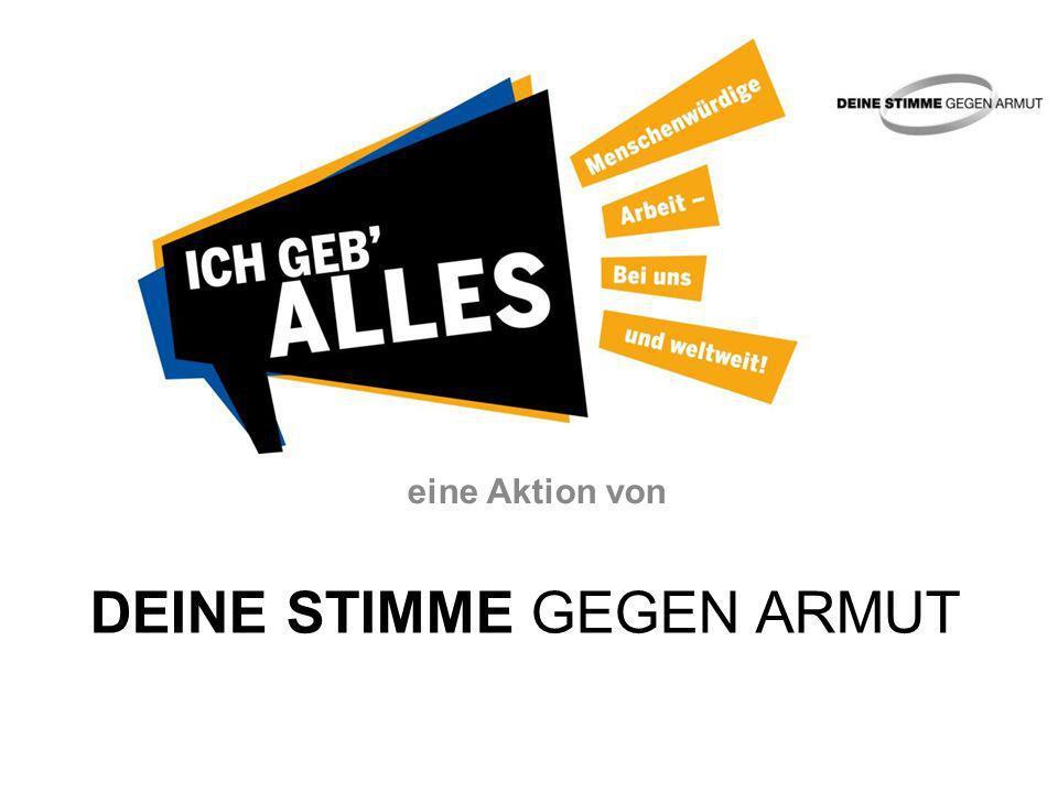 Aktionsmaterialien 2014: Infobroschüre: gibt auf 20 Seiten umfassende Hintergrundinformationen und konkrete Beispiele zum Thema menschenwürdige Arbeit.