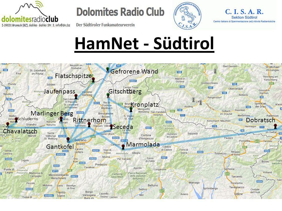 HamNet - Südtirol Marmolada Dobratsch Kronplatz Gitschtberg Gefrorene Wand Flatschspitze Jaufenpass Rittnerhorn Seceda Gantkofel Chavalatsch Schludern