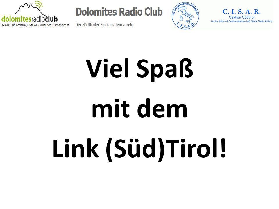 Viel Spaß mit dem Link (Süd)Tirol!
