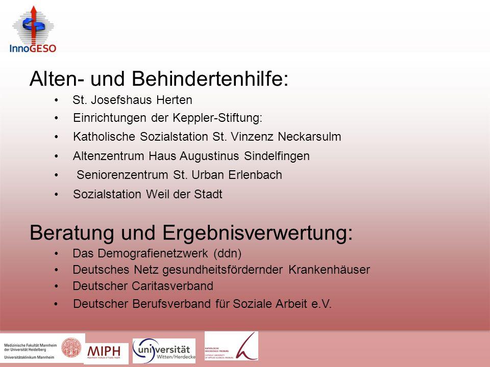 Alten- und Behindertenhilfe: St.