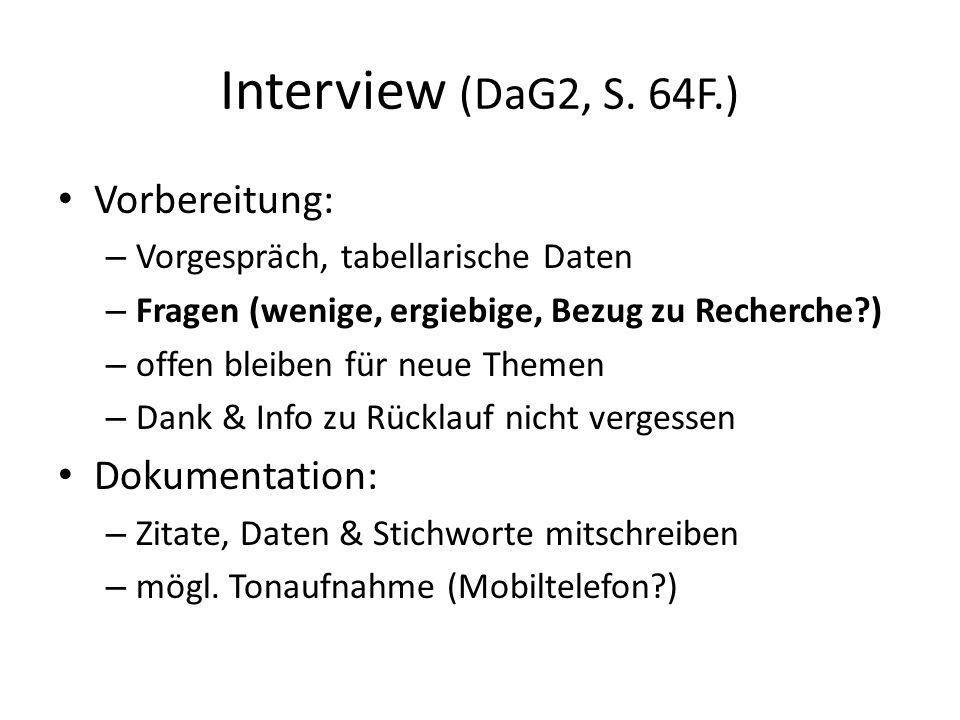 Interview (DaG2, S.
