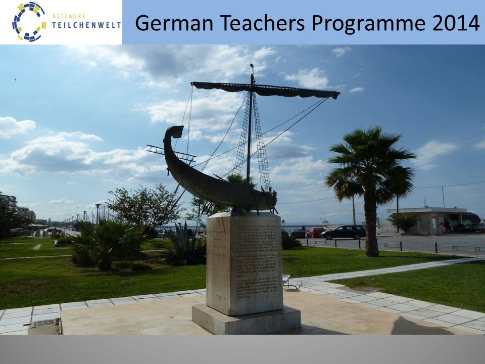 German Teachers Programme 2014