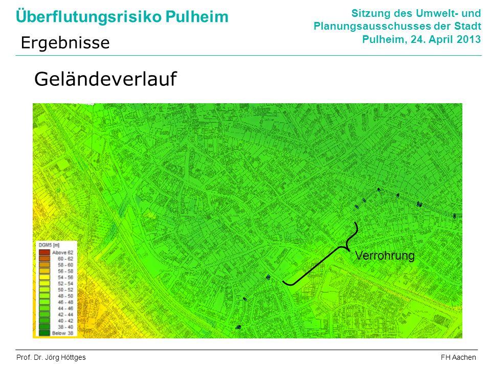 Überflutungsrisiko Pulheim Sitzung des Umwelt- und Planungsausschusses der Stadt Pulheim, 24.
