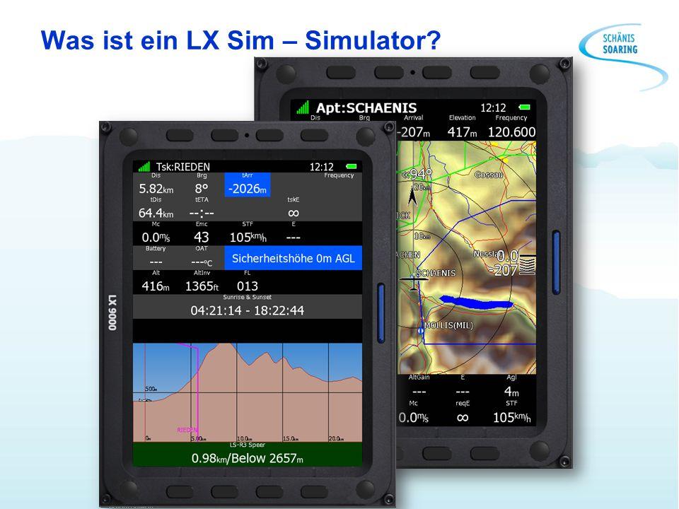 Was ist ein LX Sim – Simulator?