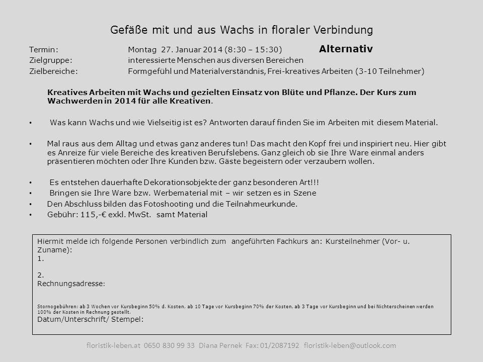 Trauerfloristik Grundkurs (Teil 1) Wissensauffrischung / Von Grund auf.