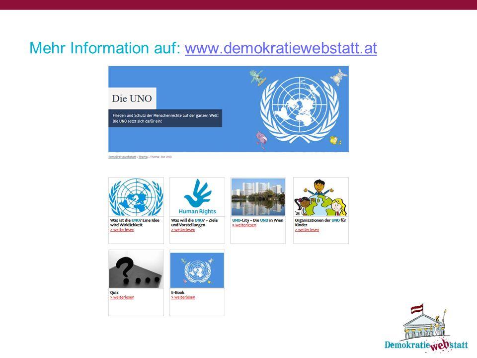 Was ist die UNO?