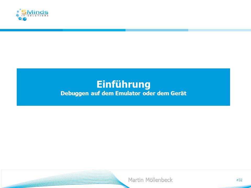 #32 Einführung Debuggen auf dem Emulator oder dem Gerät