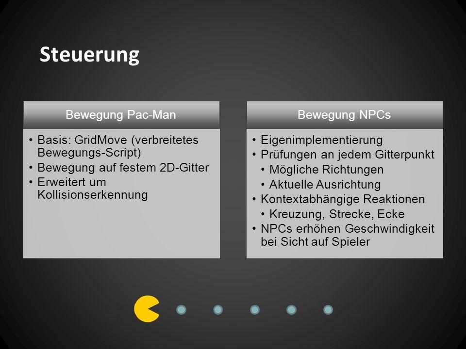 Kollisionserkennung GameObjects mit Tags z.B.PacMan, Ghost, Pellet, etc.