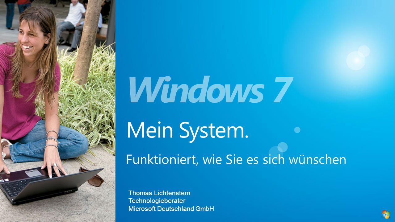 Thomas Lichtenstern Technologieberater Microsoft Deutschland GmbH