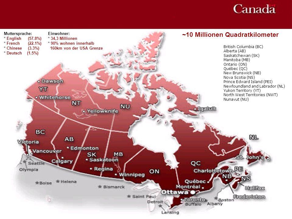 British Columbia (BC) Alberta (AB) Saskatchewan (SK) Manitoba (MB) Ontario (ON) Québec (QC) New Brunswick (NB) Nova Scotia (NS) Prince Edward Island (
