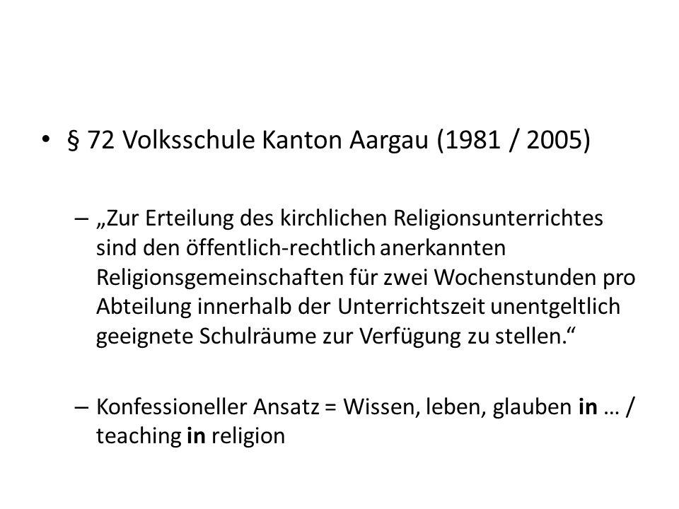 Ethik und Religionen Katechese Kirchlicher Religionsunterricht Lehrpersonen Katechese / Kirchlicher Religionsunterricht