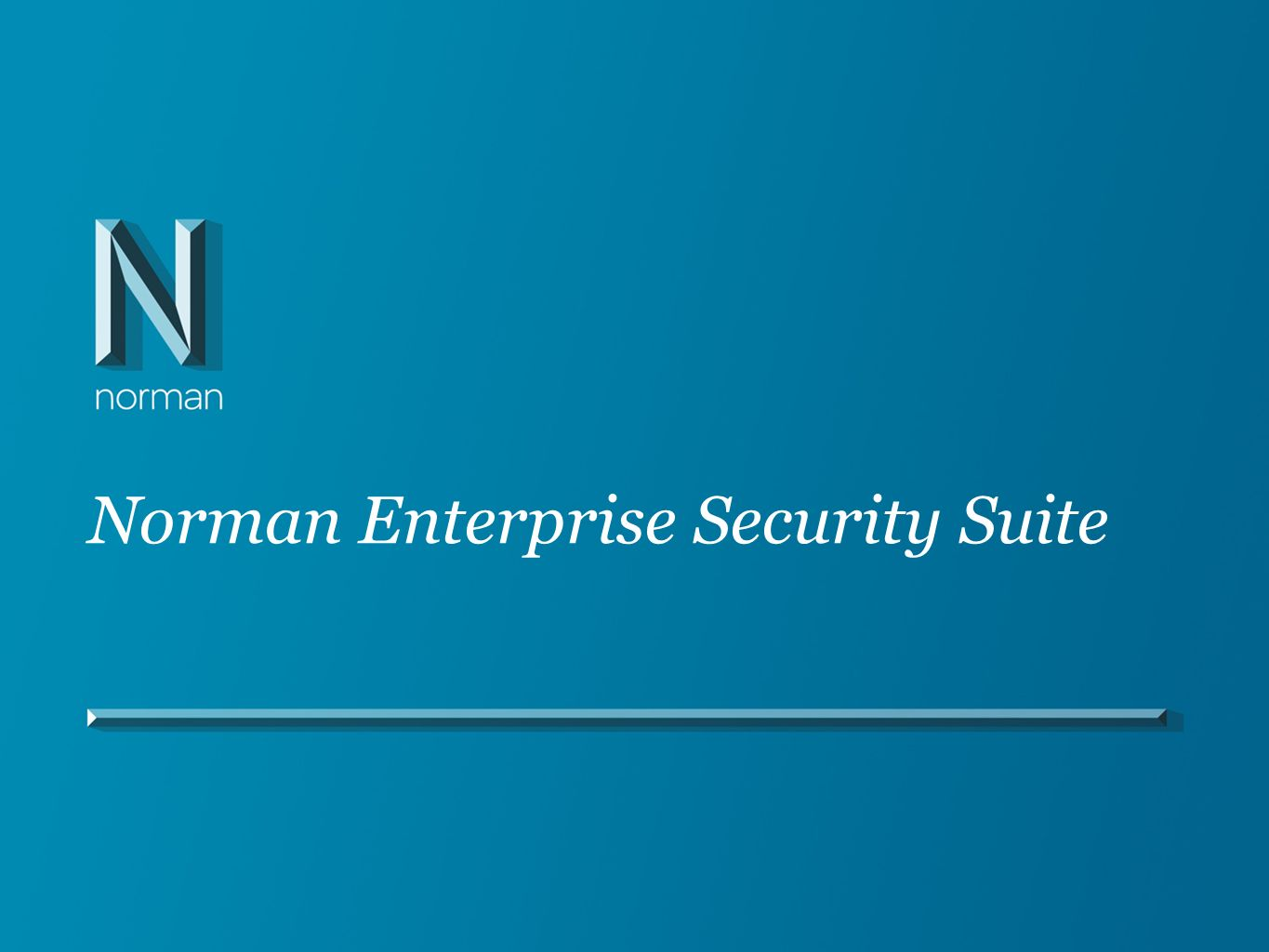Norman Enterprise Security Suite