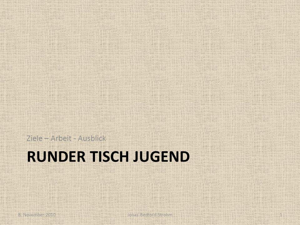 Überblick: Aktuelle Projekte Open Stage Abend im JUZ Domino 11.11.10 Treffen mit Polizei (Mittelstädt) Musikbörse (Engelhardt) Intergeneratives Schachfeld Josiasgarten Nächstes Treffen: 29.11.2010 (MGH) 8.