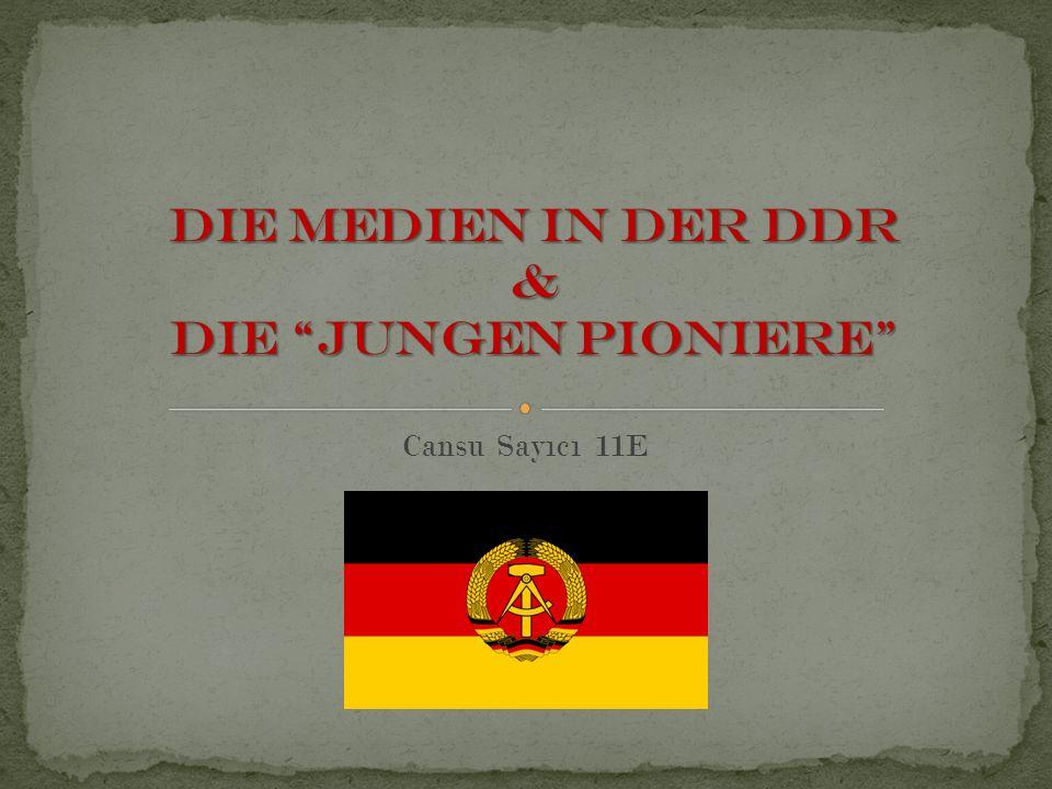 Die Medien waren sehr wichtig in der DDR.