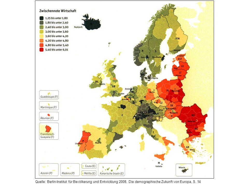 Quelle: Berlin-Institut für Bevölkerung und Entwicklung 2008, Die demographische Zukunft von Europa, S. 14