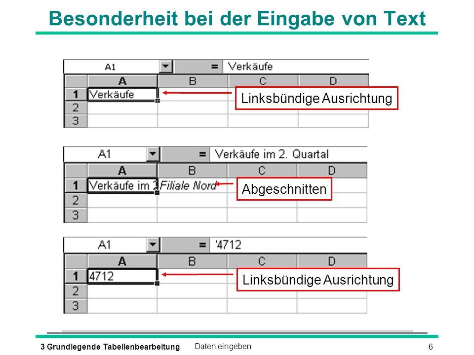 173 Grundlegende TabellenbearbeitungArbeitsmappe speichern und schließen è Arbeitsmappe unter neuem Namen speichern è DATEI - SPEICHERN UNTER è Arbeitsmappe schließen è DATEI - SCHLIESSEN oder è oder (STRG) (F4)