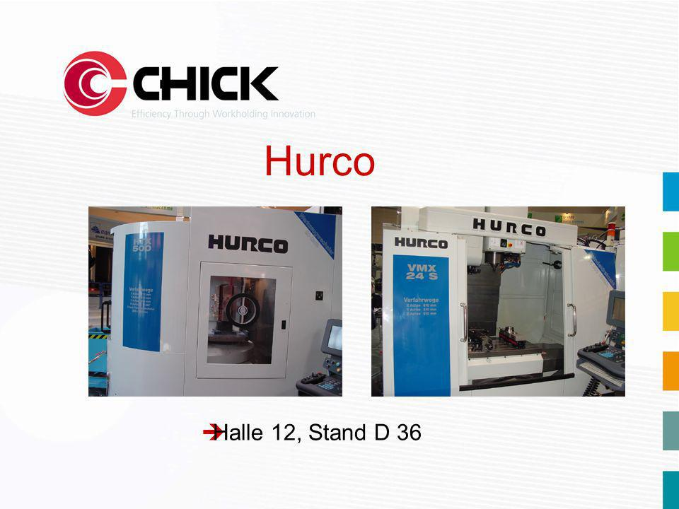 èHalle 12, Stand D 36 Hurco