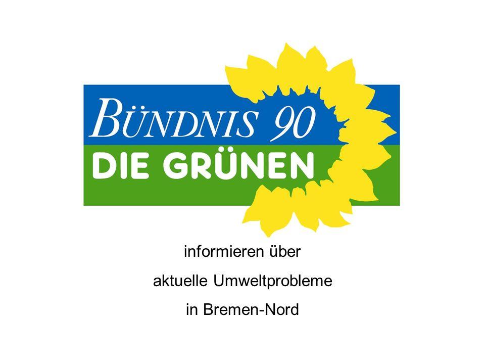 informieren über aktuelle Umweltprobleme in Bremen-Nord
