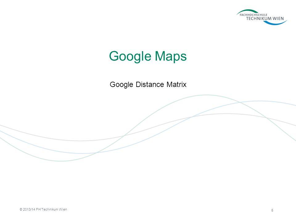 Google Distance Matrix Ermittlung von Reise-Distanzen zwischen zwei Positionen Users of the free API: –100 elements per query.