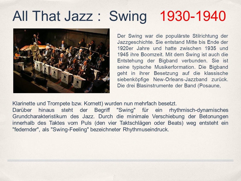 Die Entwicklung der Big Band als Jazzorchester war größtenteils ein Verdienst von Duke Ellington und Fletcher Henderson.