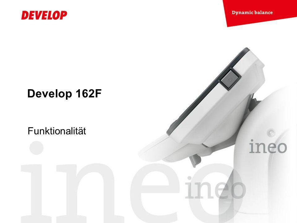 Develop 162F Funktionalität
