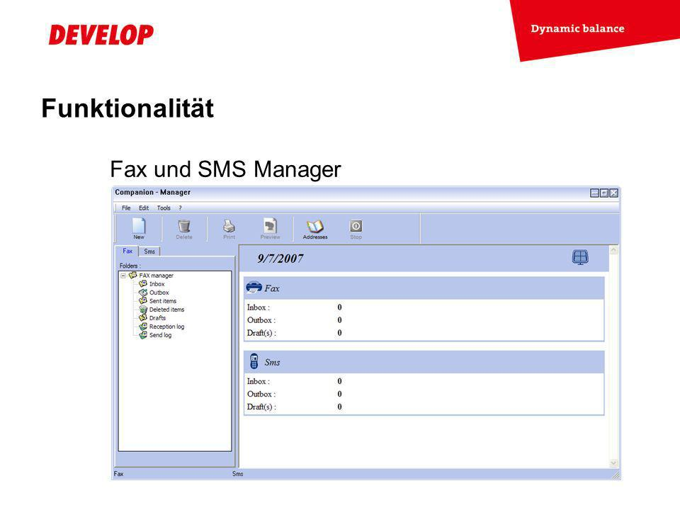 Exchange Meeting Jan 06 – Lars Moderow Fax und SMS Manager Funktionalität