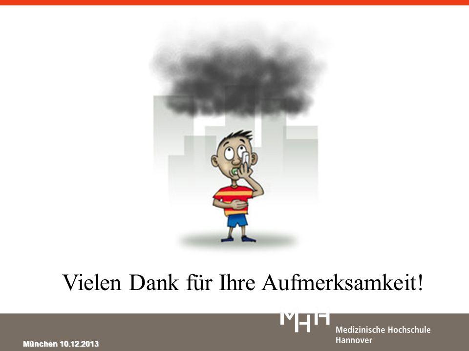 München 10.12.2013 Vielen Dank für Ihre Aufmerksamkeit!