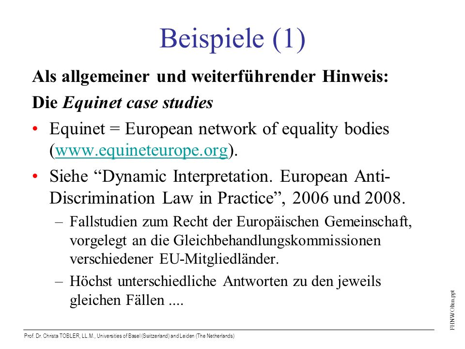 FHNW Olten.ppt Prof. Dr.