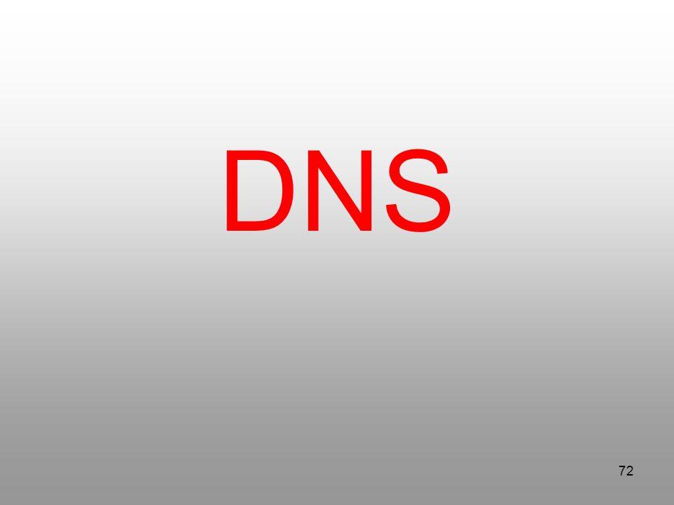 72 DNS