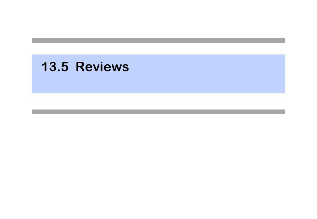 Technisches Review Nachfolgend wird das Technische Review beschrieben.