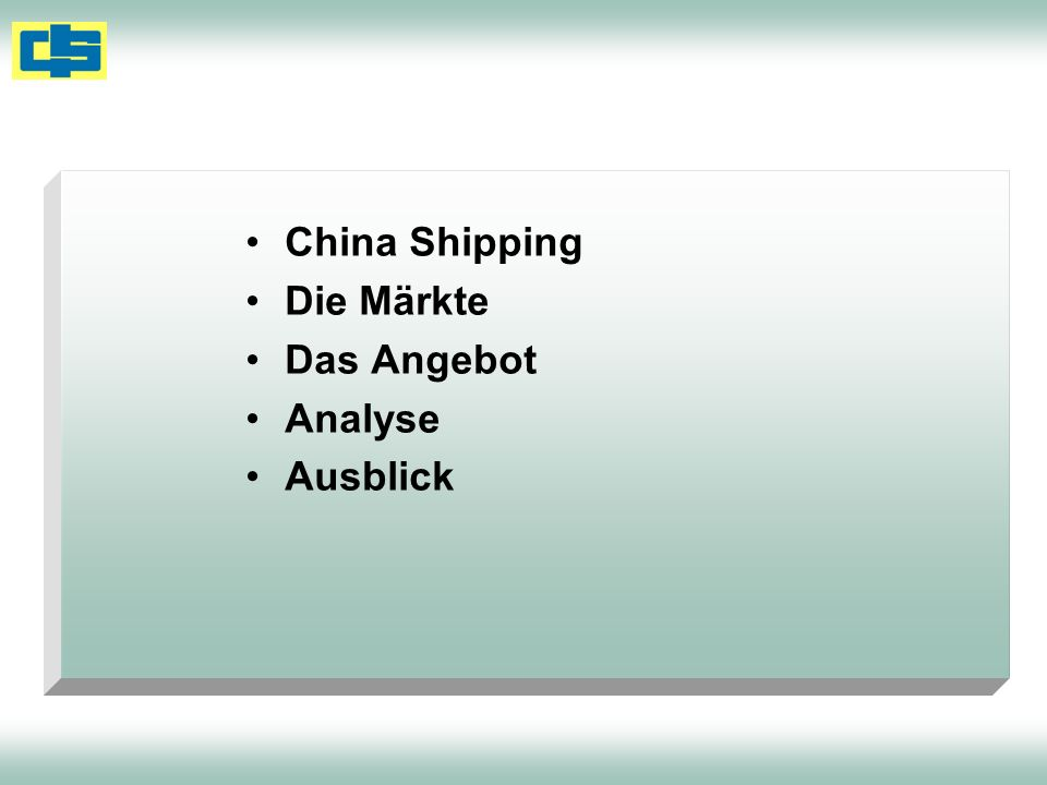 Volumen - Entwicklung From Europe Growth1H10 1H091H08 `10/ 09TEU Far East 8 % 2,7512,5412,771 North America 12 %1,3561,2071,779 Australasia 23 %206167210 Middle East/ISC 9 %1,2931,1861,214 Africa, Sub Saharan 6 %547514526 Latin America 52 %620409559 EastMed-N.