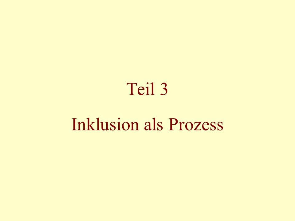 Teil 3 Inklusion als Prozess