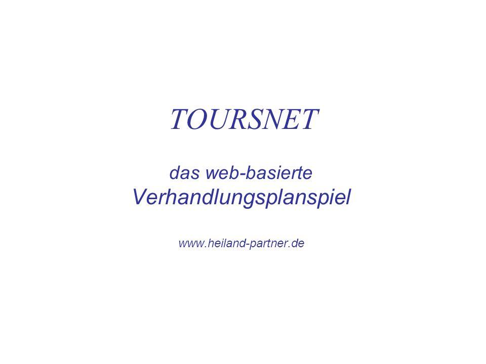 TOURSNET das web-basierte Verhandlungsplanspiel www.heiland-partner.de