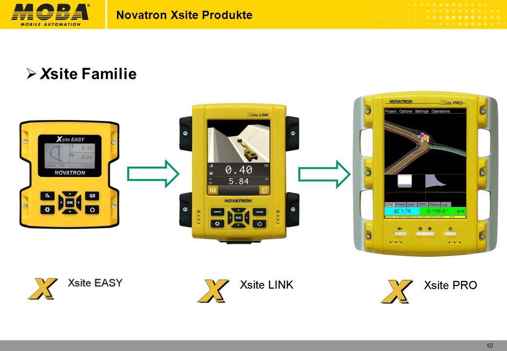 10 Novatron Xsite Produkte Xsite Familie