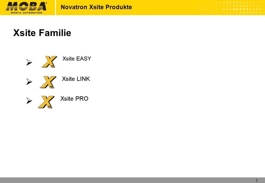 2 Xsite Familie XsiteEasy XsiteLINK XsitePro Novatron Xsite Produkte