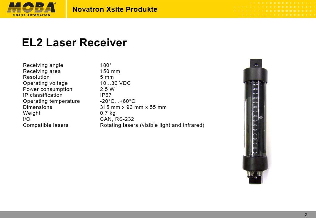 8 Novatron Xsite Produkte EL2 Laser Receiver