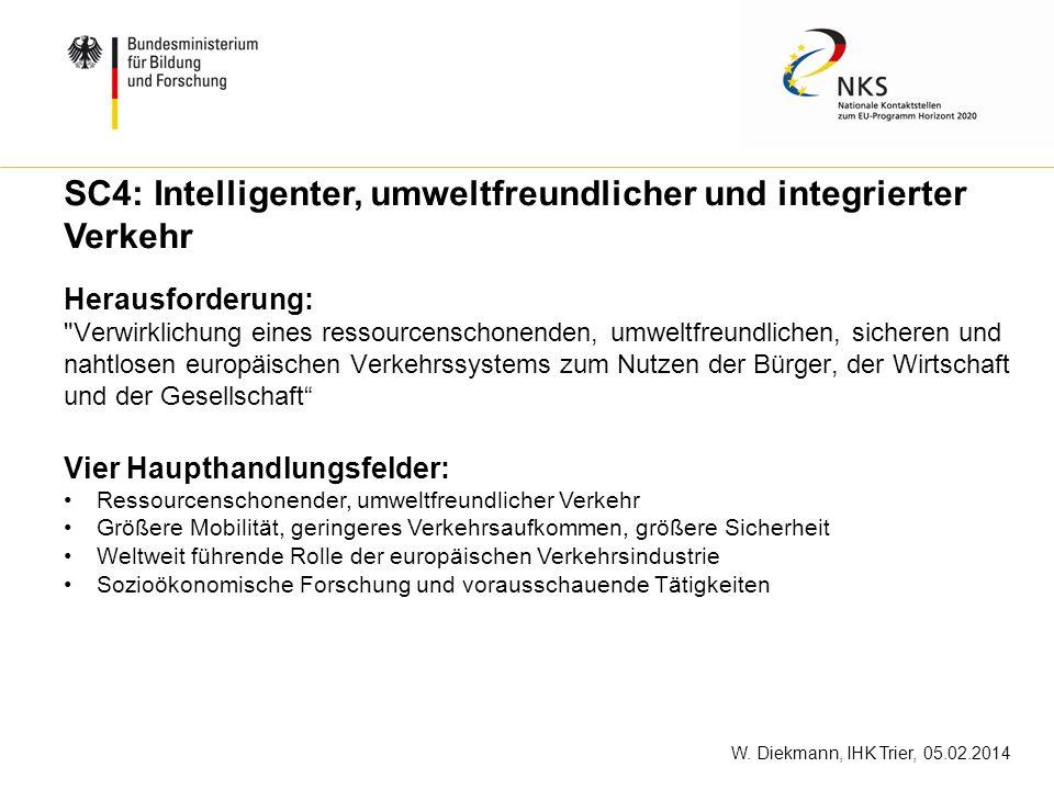 W. Diekmann, IHK Trier, 05.02.2014 Herausforderung: