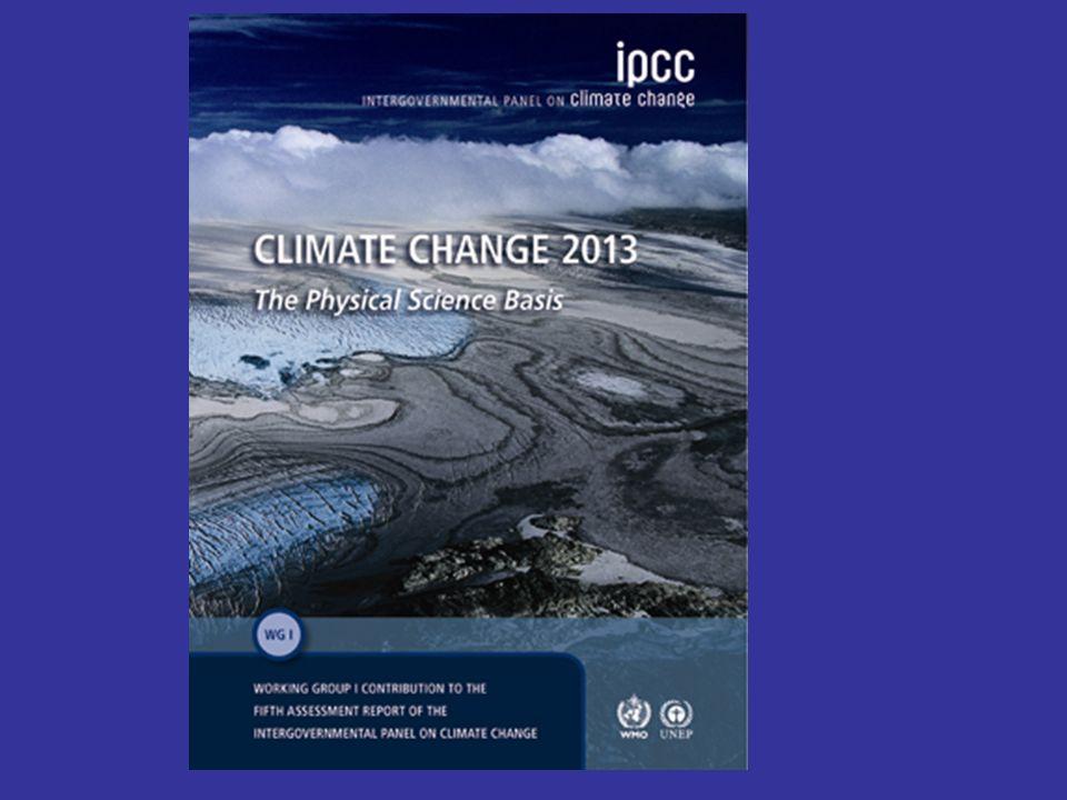 Von 1880 bis 2012 ist die bodennahe Lufttemperatur um 0,85 (0,65-1,06) °C angestiegen Die Gebirgsgletscher und das Grönland-Eis sind seit 1971 bzw.