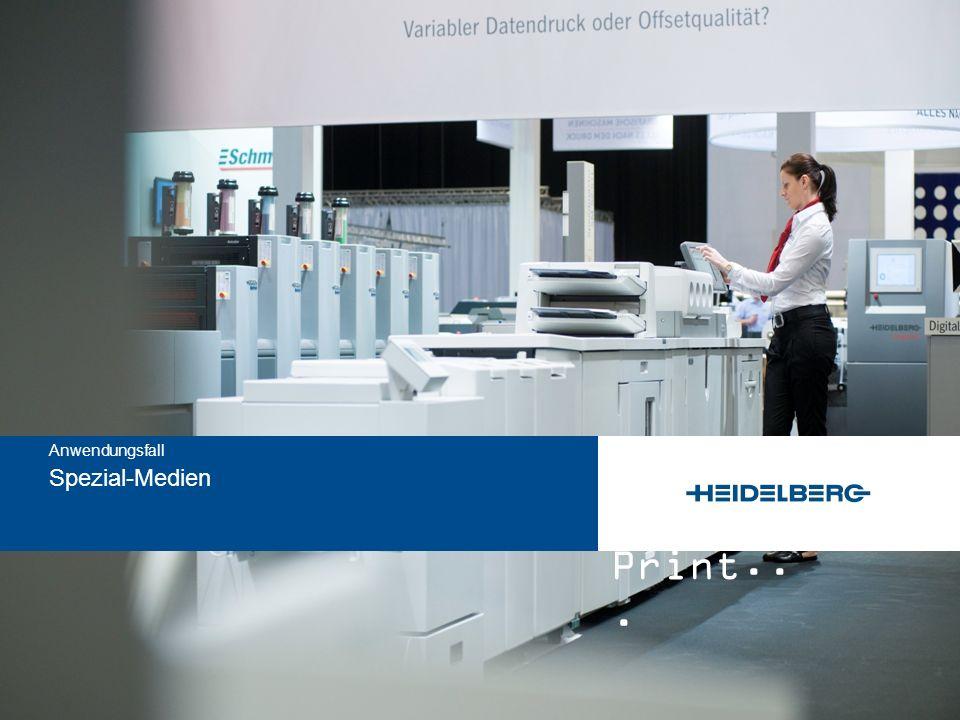 and Print... Spezial-Medien Anwendungsfall