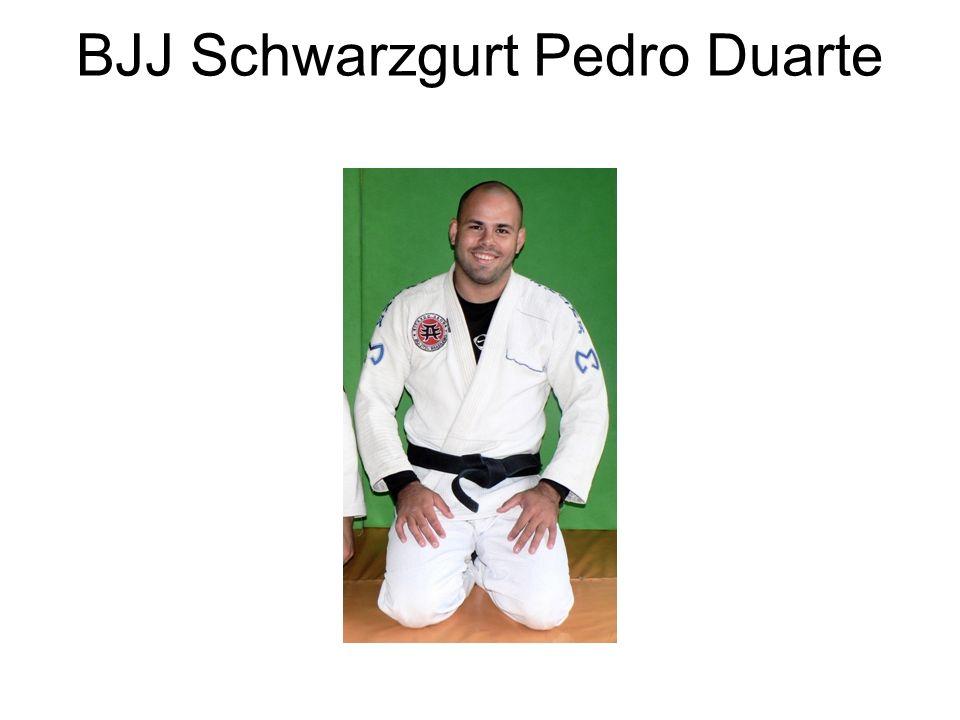 BJJ Schwarzgurt Pedro Duarte