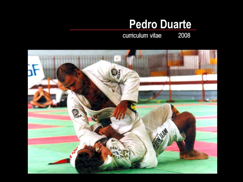 Pedro Duarte curriculum vitae 2008