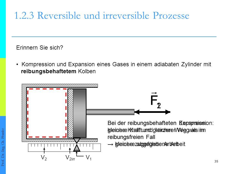 35 1.2.3Reversible und irreversible Prozesse Prof.