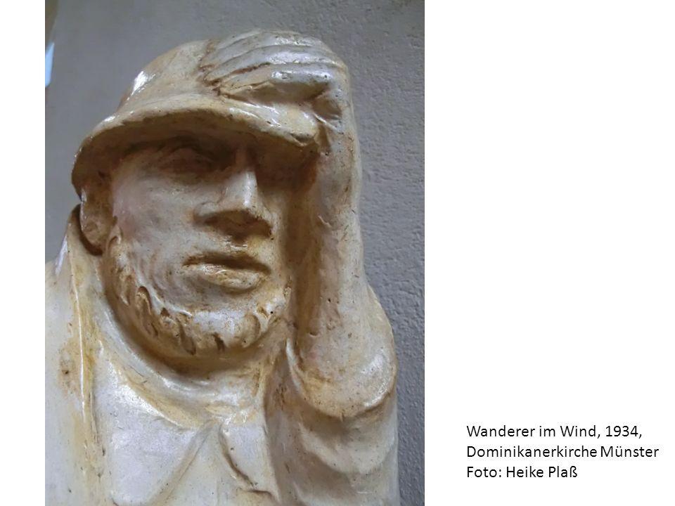 Wanderer im Wind, 1934, Dominikanerkirche Münster Foto: Heike Plaß