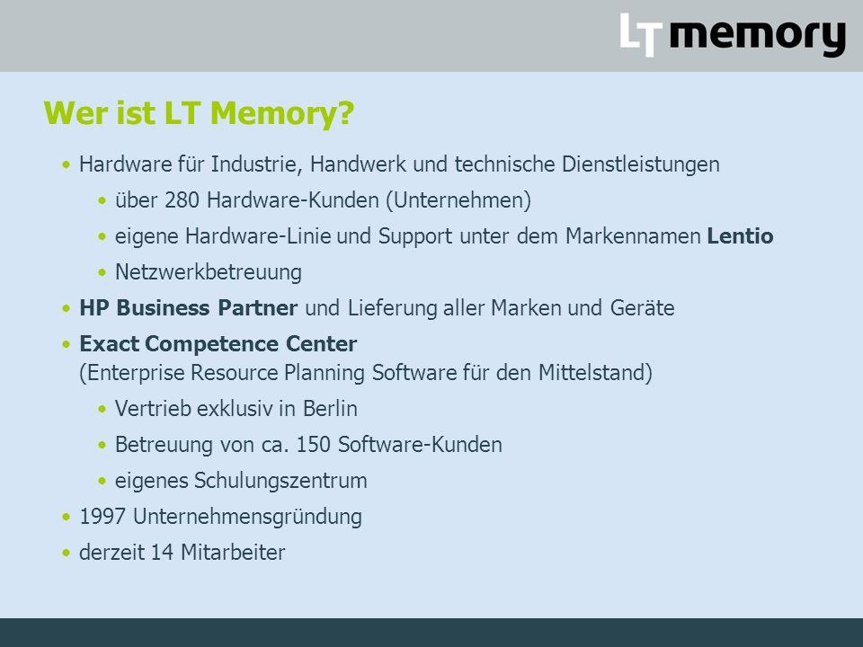Wer ist LT Memory.