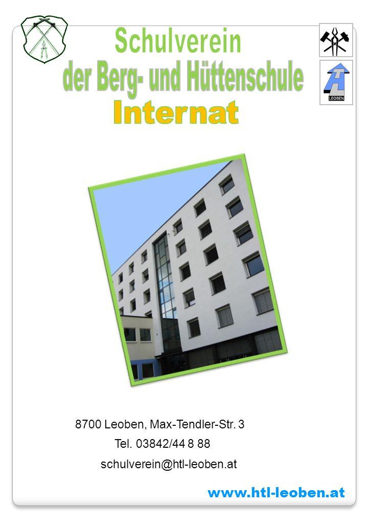 www.htl-leoben.at 8700 Leoben, Max-Tendler-Str. 3 Tel. 03842/44 8 88 schulverein@htl-leoben.at