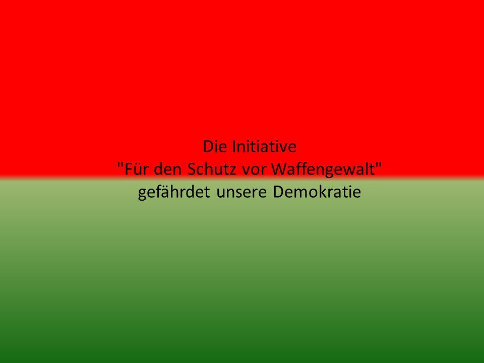Stimmbürgerinnen und Stimmbürger!